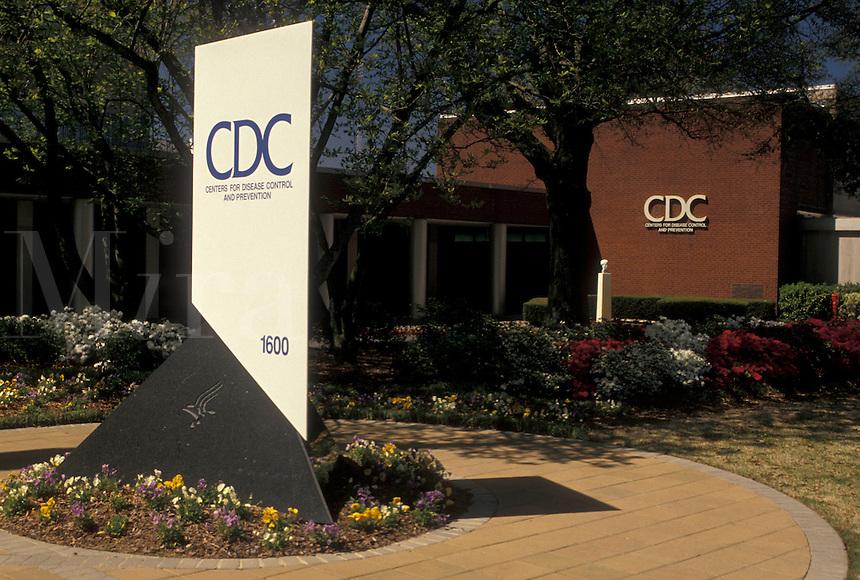 CDC, Atlanta, Georgia, GA, Center for Disease Control in Atlanta.