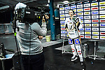 Stockholm 2014-01-18 Ishockey SHL AIK - F&auml;rjestads BK :  <br /> F&auml;rjestads Magnus Nygren intervjuas i TV efter matchen<br /> (Foto: Kenta J&ouml;nsson) Nyckelord: