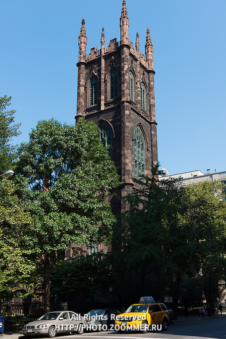 First Presbyterian Church on Manhattan, New York, USA
