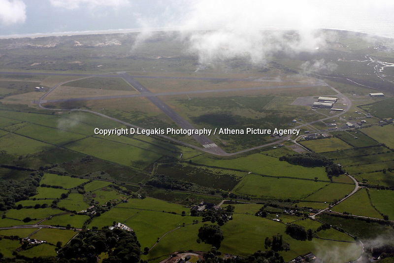 Former RAF base at Llanbedr<br /> Re: Aerial view of Wales. Sunday 14 June 2009<br /> Picture by D Legakis Photography / Athena Picture Agency, 24 Belgrave Court, Swansea, SA1 4PY, 07815441513