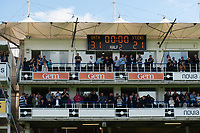 A general view of the scoreboard after the match. Aviva Premiership match, between Bath Rugby and Saracens on September 9, 2017 at the Recreation Ground in Bath, England. Photo by: Patrick Khachfe / Onside Images