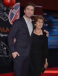 """Jon Watts - director and mom 055 arrives for the premiere of Sony Pictures' """"Spider-Man Far From Home"""" held at TCL Chinese Theatre on June 26, 2019 in Hollywood, California"""