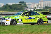 RIO DE JANEIRO, RJ, 21 DE JULHO 2012 - MERCEDES-BENZ GRAND CHALLENGE - 4ª ETAPA - RIO DE JANEIRO - O piloto Sérgio Chamon, durante a 4ª etapa do Mercedes-Benz Grand Challenge, disputado no Autodromo Internacional Nelson Piquet, Jacarepagua, Rio de Janeiro, neste sábado, 21. FOTO BRUNO TURANO  BRAZIL PHOTO PRESS