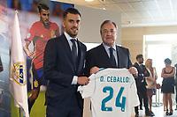 Daniel Ceballos and Real Madrid Football Club President, Florentino Perez