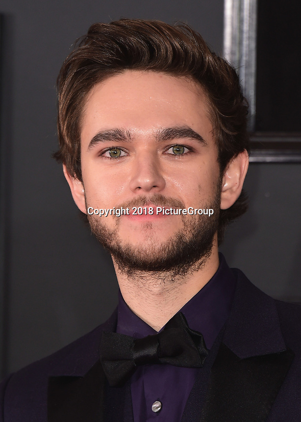 NEW YORK - JANUARY 28:  Zedd at the 60th Annual Grammy Awards at Madison Square Garden on January 28, 2018 in New York City. (Photo by Scott Kirkland/PictureGroup)