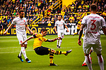 11.05.2019, Signal Iduna Park, Dortmund, GER, 1.FBL, Borussia Dortmund vs Fortuna D&uuml;sseldorf, DFL REGULATIONS PROHIBIT ANY USE OF PHOTOGRAPHS AS IMAGE SEQUENCES AND/OR QUASI-VIDEO<br /> <br /> im Bild | picture shows:<br /> Torschuss Christian Pulisic (Borussia Dortmund #22), <br /> <br /> Foto &copy; nordphoto / Rauch