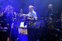 LONDON, ENGLAND - NOVEMBER 5: Mike Batt performing with 'Hawkwind' at The Palladium on November 5, 2018 in London, England.<br /> CAP/MAR<br /> &copy;MAR/Capital Pictures