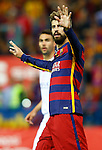 FC Barcelona's Gerard Pique during Spanish Kings Cup Final match. May 22,2016. (ALTERPHOTOS/Acero)
