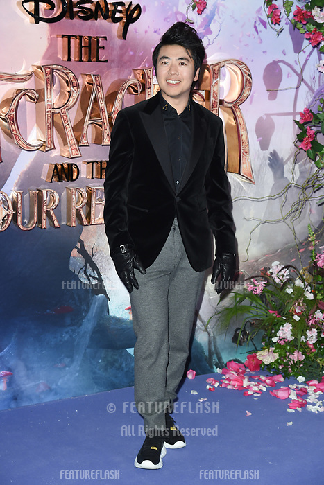 LONDON, UK. November 01, 2018: Lang Lang at the European premiere of &quot;The Nutcracker and the Four Realms&quot; at the Vue Westfield, White City, London.<br /> Picture: Steve Vas/Featureflash