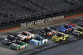 #51: Christopher Bell, Kyle Busch Motorsports, Toyota Tundra Hunt Brothers Pizza and #8: John Hunter Nemechek, NEMCO Motorsports, Chevrolet Silverado D.A.B. Constructors, Inc. / Fleetwing Corporation