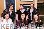 Celebrating Women's Christmas at The Towers Hotel Glenbeigh<br /> L-R: Mary O'Shea, Shannon O'Shea, Edel Griffin<br /> Back L-R Margaret Griffin, Siobhan Enfield &amp; Helena Cahill.