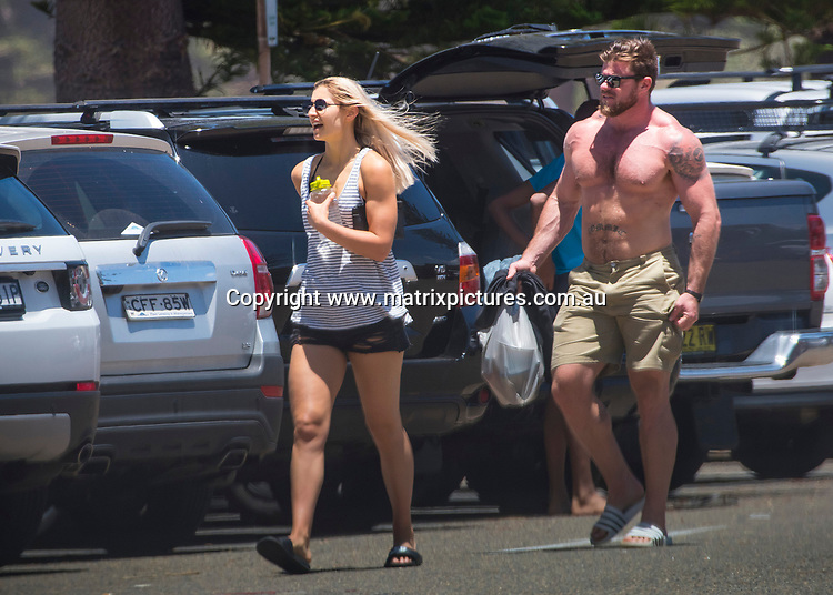 27 December 2017 SYDNEY AUSTRALIA<br /> WWW.MATRIXPICTURES.COM.AU<br /> <br /> EXCLUSIVE PICTURES<br /> The daughter of former PM, Tony Abbott, Frances Abbott and fiance, Sam Loch spend their days working out, walking and running long distances up and down hills around Palm Beach.<br /> <br /> *No internet without clearance*.<br /> <br /> MUST CALL PRIOR TO USE <br /> <br /> +61 2 9211-1088. <br /> <br /> Matrix Media Group.Note: All editorial images subject to the following: For editorial use only. Additional clearance required for commercial, wireless, internet or promotional use.Images may not be altered or modified. Matrix Media Group makes no representations or warranties regarding names, trademarks or logos appearing in the images.