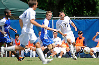 2 October 2011:  FIU midfielder/forward Nicholas Chase (8) passes the ball in the second half as the FIU Golden Panthers defeated the University of Kentucky Wildcats, 1-0 in overtime, at University Park Stadium in Miami, Florida.