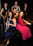 The Killarney Rotary club Young Musician of the Year finalists at the Inec Acoustic Club on Saturday night. Seated from left are Florence Plain, Micheal Cullinane and Caoimhe Doyle. Back from left are Niamh O'Raw , Selena Ni Chonail, and  Cloda Curran. Picture: Eamonn Keogh (MacMonagle, Killarney)