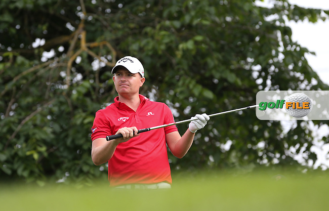 Playing to the 16th James Morrison (ENG) has the measure of the field during Round Three of the 2015 BMW International Open at Golfclub Munchen Eichenried, Eichenried, Munich, Germany. 27/06/2015. Picture David Lloyd | www.golffile.ie