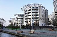 Nederland Amsterdam - 2019.  Amsterdam De Omval. Appartementen.   Foto Berlinda van Dam / Hollandse Hoogte