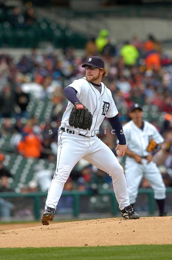 NATE ROBERTSON, of the Detroit Tigers during their game against the Toronto Blue Jays, on April 4, 2007 in Detroit, Michigan...Tigers win 10-9....DAVID DUROCHIK / SPORTPICS