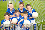TOP TEAM:  Young footballers  from Farranfore and Firies  enjoying the Kerry VGAA VHI Cul  Camp in Farranfore on Friday last..Front L/r. Thomas Murphy, Richie Flaherty, Cathal O'Shea..Back L/r. Evan O'Connor, Trevour O'Shea and Liam Butler.   Copyright Kerry's Eye 2008