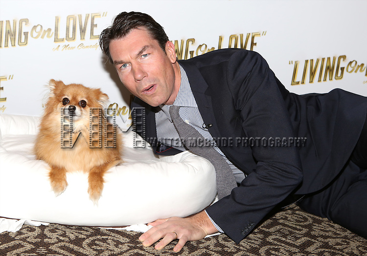 Trixie and Jerry O'Connell attend the 'Living on Love' photo call at the Empire Hotel on March 12, 2015 in New York City.