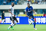 FC Schalke Forward Haji Wright (R) in action against Besiktas Istambul Midfielder Atiba Hutchinson (L) during the Friendly Football Matches Summer 2017 between FC Schalke 04 Vs Besiktas Istanbul at Zhuhai Sport Center Stadium on July 19, 2017 in Zhuhai, China. Photo by Marcio Rodrigo Machado / Power Sport Images
