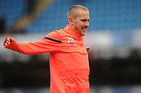 Blackburn Rovers' Lewis Holtby during the pre-match warm-up <br /> <br /> Photographer Kevin Barnes/CameraSport<br /> <br /> The EFL Sky Bet Championship - Blackburn Rovers v Luton Town - Saturday 28th September 2019 - Ewood Park - Blackburn<br /> <br /> World Copyright © 2019 CameraSport. All rights reserved. 43 Linden Ave. Countesthorpe. Leicester. England. LE8 5PG - Tel: +44 (0) 116 277 4147 - admin@camerasport.com - www.camerasport.com