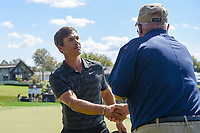 Thorbjorn Olesen (DEN) shakes hands following round 2 of the Arnold Palmer Invitational at Bay Hill Golf Club, Bay Hill, Florida. 3/8/2019.<br /> Picture: Golffile | Ken Murray<br /> <br /> <br /> All photo usage must carry mandatory copyright credit (&copy; Golffile | Ken Murray)