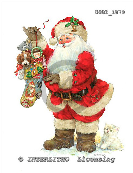 GIORDANO, CHRISTMAS SANTA, SNOWMAN, WEIHNACHTSMÄNNER, SCHNEEMÄNNER, PAPÁ NOEL, MUÑECOS DE NIEVE, paintings+++++,USGI1879,#X# stickers