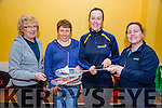 Eileen Roche, Mary Flaver, Aine Knightley, Deirdre McAuliffe at the Ballyheigue Badminton Tournament at the Community Hall on Sunday
