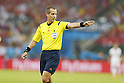 Mark Geiger (Referee), JUNE 18, 2014 - Football / Soccer : FIFA World Cup Brazil<br /> match between Spain and Chile at the Maracana Stadium in Rio de Janeiro, Brazil. (Photo by AFLO)