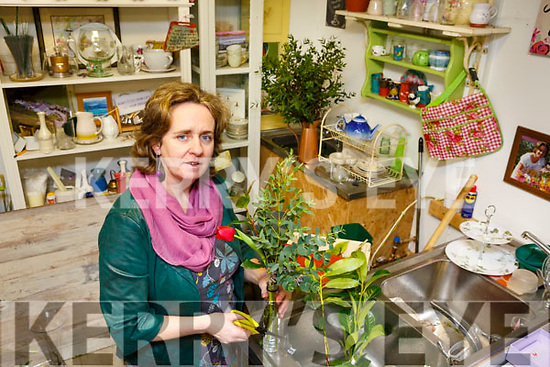 Maura Sheehy of Maura's Cottage Flowers in Knockanish,  The Spa Tralee