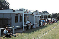 General view of Farleigh Rovers FC Football ground, Parsonage Field, Harrow Road, Farleigh, Surrey, pictured on 27th July 1991