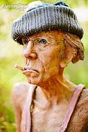 Image Ref: YR117<br /> Location: Bruno's Art and Sculpture Garden, Marysville<br /> Date: 4th Oct, 2015