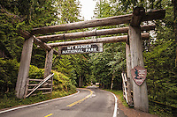Entrance to Mt. Rainier