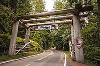 Entrance to Mt. Rainier
