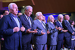 Palestinian President Mahmoud Abbas attends the fourth national forum for the fourth industrial revolution, in the West Bank city of Ramallah, Sep. 09, 2019. Photo by Thaer Ganaim