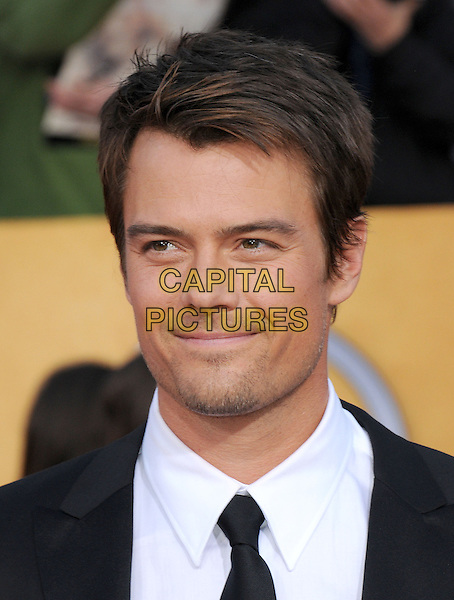 JOSH DUHAMEL.17th Annual Screen Actors Guild Awards held at The Shrine Auditorium, Los Angeles, California, USA..January 30th, 2011.arrivals SAG headshot portrait black white tie stubble facial hair .CAP/RKE/DVS.©DVS/RockinExposures/Capital Pictures.