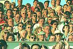 Ferdinand Piech -VW Boss<br /> <br /> Aus VfL Wolfsburg-Mainz 05 5:4. Piech vorn Mitte mit M&uuml;tze.<br /> 2. links Innenmin. Glogowski (blond beim klatschen). Leider<br /> in der Abendsonne<br /> <br /> Foto &copy; nordphoto / Rust