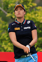 In Gee Chun (KOR) in action on the 3rd during Round 2 of the HSBC Womens Champions 2018 at Sentosa Golf Club on the Friday 2nd March 2018.<br /> Picture:  Thos Caffrey / www.golffile.ie<br /> <br /> All photo usage must carry mandatory copyright credit (&copy; Golffile | Thos Caffrey)