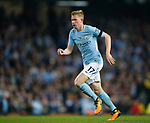 Kevin De Bruyne of Manchester City during the Premier League match at the Eithad Stadium, Manchester. Picture date 21st August 2017. Picture credit should read: Simon Bellis/Sportimage