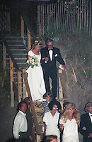 Alec Baldwin &amp; Kim Basinger Wedding 1993<br />