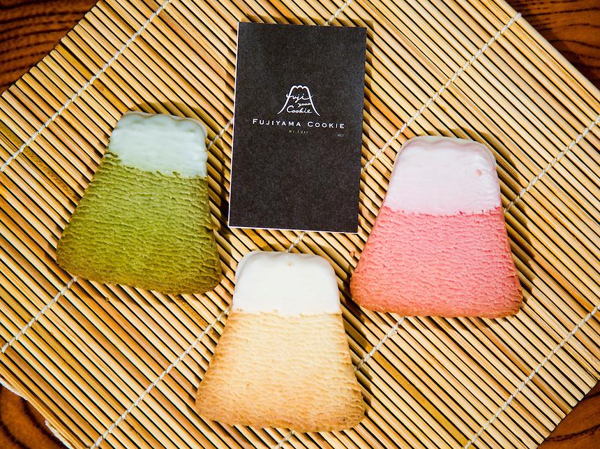 Mount Fuji Fujiyama Cookies