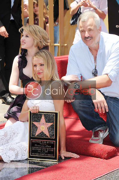 Sofia Vassilieva with Cameron Diaz and Nick Cassavetes<br />