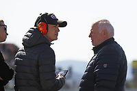 27th February 2020; Circuit De Barcelona Catalunya, Barcelona, Catalonia, Spain; Formula 1 2nd Pre season Testing Day Two; Norbert Vettel watching the action trackside