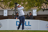 Marc Leishman (AUS) watches his tee shot on 1 during day 4 of the WGC Dell Match Play, at the Austin Country Club, Austin, Texas, USA. 3/30/2019.<br /> Picture: Golffile | Ken Murray<br /> <br /> <br /> All photo usage must carry mandatory copyright credit (© Golffile | Ken Murray)