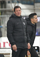Partick Thistle Manager Gary Caldwell in the SPFL Ladbrokes Championship football match between Queen of the South and Partick Thistle at Palmerston Park, Dumfries on  4.5.19.