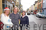 Shopping in Cahersiveen pictured l-r Sheila Ní Chonaill, Peter Hill & Elam Shine.