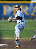 Lakewood Spartans shortstop Bo Bichette (19) throws home during a game against the Boca Ciega Pirates at Boca Ciega High School on March 2, 2016 in St. Petersburg, Florida.  (Copyright Mike Janes Photography)
