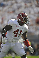 10 September 2011:  Alabama LB Courtney Upshaw (41). The Alabama Crimson Tide defeated the Penn State Nittany Lions 27-11 at Beaver Stadium in State College, PA..