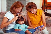 Three generations of Latina women