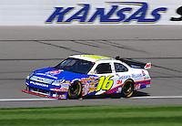 Sept. 27, 2008; Kansas City, KS, USA; Nascar Sprint Cup Series driver Greg Biffle during practice for the Camping World RV 400 at Kansas Speedway. Mandatory Credit: Mark J. Rebilas-